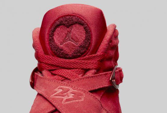 """公式画像追記★ 2月14日発売★ NIKE Air Jordan 8 WMNS """"Valentine's Day"""" Gym Red/Ember Glow-Team Red  AQ2449-614 (ナイキ エアジョーダン 8 """"バレンタイン""""))"""