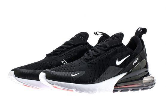 3月2日発売★ Nike Air Max 270 Black/White AH8050-002  (ナイキ エアマックス 270 )