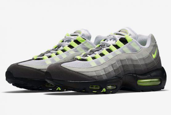 3月2日発売★ Nike Air Max 95 Black/Volt-Medium Ash-Dark Pewter  554970-071 (ナイキ エアマックス 95)