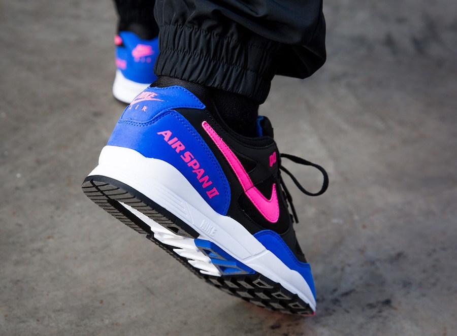 Nike Air Span II Black/Hyper Pink-Hyper