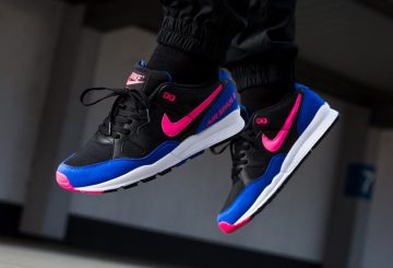 海外展開中★ Nike Air Span II Black/Hyper Pink-Hyper Royal AH8047-003