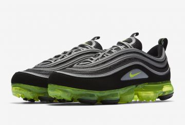 3月9日発売★ Nike Air VaporMax 97 Black/Volt/Metallic Silver-White  AJ7291-001 (ナイキ ヴェイパーマックス 97)