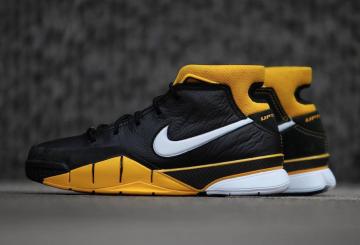 """動画★2月16日発売★ Nike Zoom Kobe 1 Protro """"Del Sol"""" Black/White-Varsity Maize  AQ2728-003 (ナイキ ズーム コービー1 プロトロ)"""