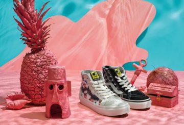 2月24日発売★ SPONGE BOB × VANS SK8-HI & AUTHENTIC & SLIP-ON (スポンジ ボブ × ヴァンズ コレクション )