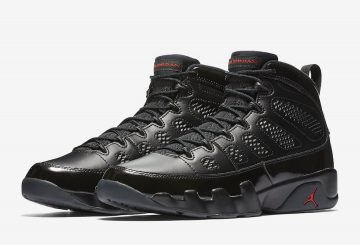 動画★ NIKE AIR JORDAN 9 RETRO BLACK/ANTHRACITE-UNIVERSITY RED  302370-014  (ナイキ エアジョーダン 9)