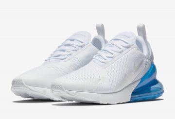 3月26日発売★ Nike Air Max 270  White/White-Photo Blue AH8050-105  (ナイキ エアマックス 270 )