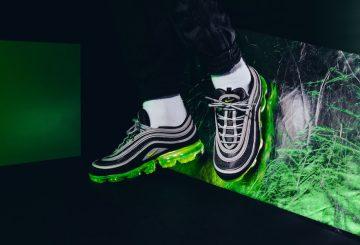 3月9日発売★ Nike Air VaporMax 97 Black/Volt/Metallic Silver-White  AJ7291-001 (ナイキ エア ヴェイパーマックス 97)
