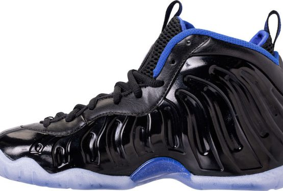 "3月16日発売★ Nike Little Posite One ""Space Jam"" Black/Hyper Royal 644791-006 ナイキ リトル ポジット 1)"
