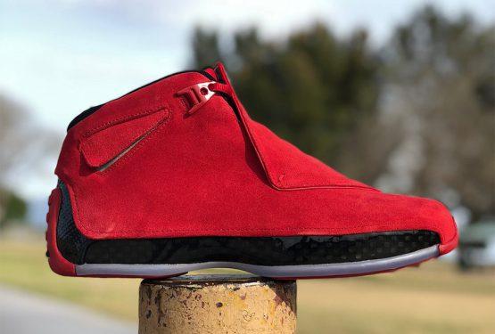 動画★4月7日発売★ NIKE Air Jordan 18 Gym Red/Black AA2494-601  (ナイキ エアジョーダン 18)