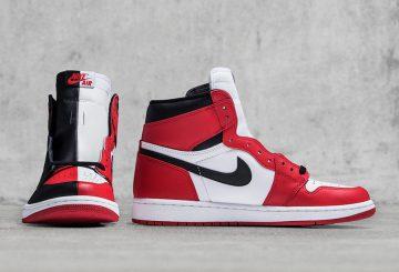 動画★ 5月19日発売★ NIKE Air Jordan 1 Retro High OG H2H NRG Black/White-University Red  AR9880-023 (ナイキ エアジョーダン1)