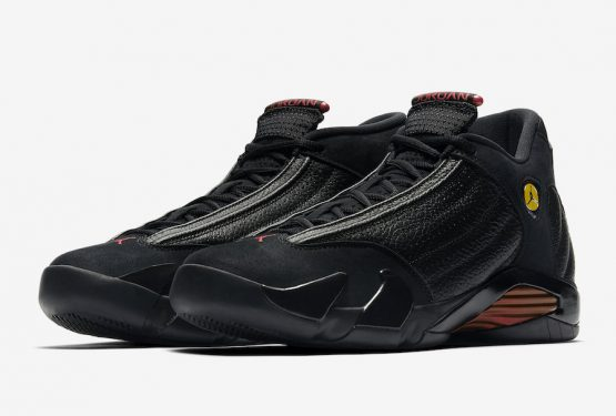 "動画★6月14日発売★NIKE Air Jordan 14 ""Last Shot"" Black/Varsity Red-Black  487471-003"