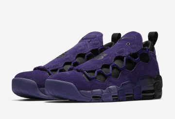 4月20日発売★ NIKE AIR MORE MONEY PRPL QS AQ2177-500 COURT PURPLE/COURT PURPLE-BLK (ナイキ)