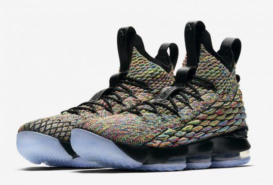 """4月12日発売★ Nike LeBron 15 """"Four Horsemen""""  Multi-Color/Black  ao1754-901 (ナイキ レブロン 15)"""