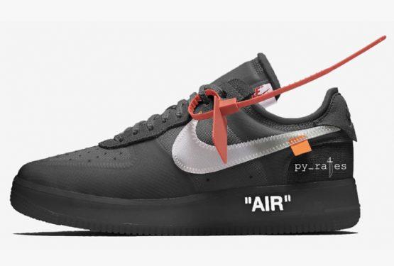 10月発売予定★ Off-White x Nike Air Force 1 Low Black/White AO4606-001 (オフ ホワイト × ナイキ エアフォース1) )