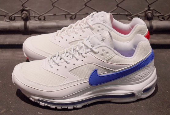 5月3日発売★ SKEPTA × NIKE AIR MAX 97/BW   SUMMIT WHITE/HYPER COBALT-WHITE  AO2113-100 (スケプタ × ナイキ エアマックス97/BW)