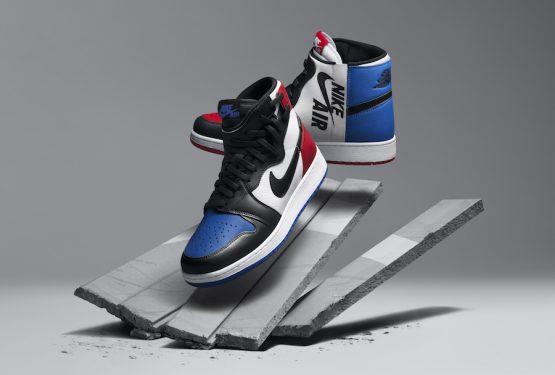 """5月19日発売★ NIKE Air Jordan 1 Rebel XX """"Top 3""""  White/Black-Varsity Red-Varsity Royal  AT4151-001 (  ナイキ ウィメンズ エアジョーダン 1 レベル XX トップ)"""