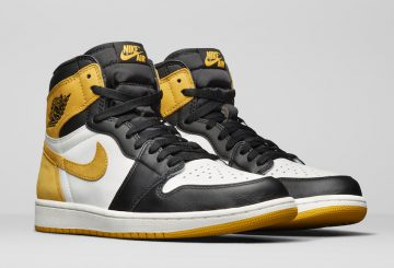 "動画★5月3日発売★NIKE Air Jordan 1 Retro High OG ""Yellow Ochre""  Summit White/Black-Yellow Ochre 555088-109  (ナイキ エアジョーダン 1)"