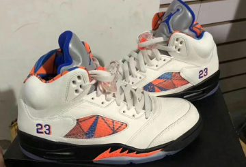 9月8日発売★ NIKE AIR JORDAN 5 RETRO SAIL/ORANGE PEEL-BLACK-HYPER ROYAL 136027-148  (ナイキ エアジョーダン 5)