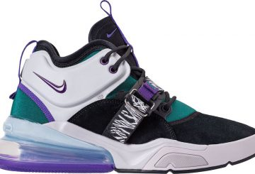"5月18日発売★ Nike Air Force 270 ""Carnivore""  Black/Court Purple-Dark Atomic Teal  AH6772-005  (ナイキ エアフォース 270 )"