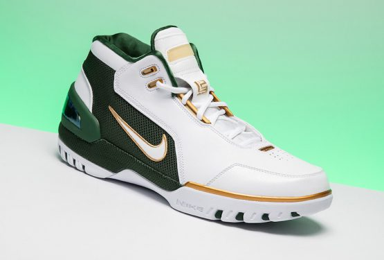 動画★5月26日発売★ Nike Air Zoom Generation SVSM QS  White/Metallic Gold Dust/Deep Forest-White  AO2367-100 (ナイキ エア ズームジェネレーション )