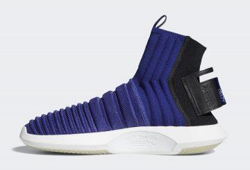 5月15日発売★ adidas Crazy 1 ADV Sock Primeknit Real Purple/Real Purple-Core Black CQ1011 (アディダス クレイジー 1 ADV)