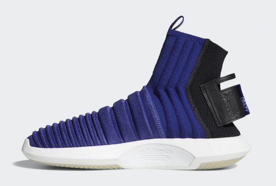 5月15日発売★ adidas Crazy 1 ADV Sock Primeknit Real Purple/Real Purple-Core Black CQ1011 (アディダス クレイジー 1 ADV)