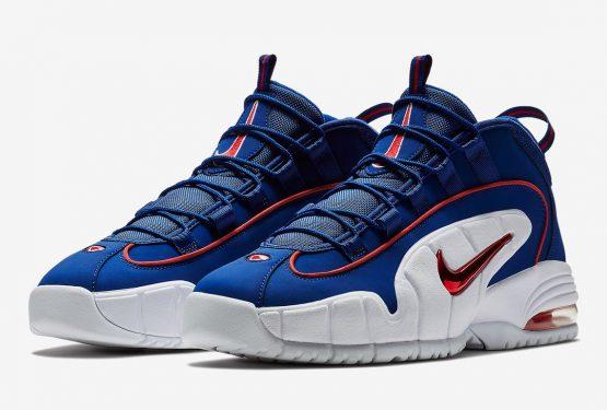 """動画★ 6月30日発売★ Nike Air Max Penny 1 """"Lil' Penny"""" Deep Royal Blue/Gym Red-White  685153-400 (ナイキ エア マックス ペニー 1)"""