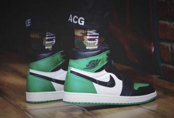 NEW IMAGES★NIKE  Air Jordan 1 Retro High OG  Pine Green/Sail-Black  555088-302  (ナイキ エアジョーダン1)