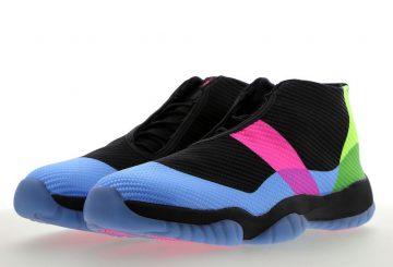 """6月30日発売★ NIKE Jordan Future """"Quai 54""""  Black/University Blue-Pink Blast  AT9191-001  (ナイキ ジョーダン フューチャー )"""