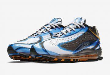 7月12日発売予定★ Nike Air Max Deluxe Photo Blue/Wolf Grey-Orange Peel-Black  AJ7831-401 (ナイキ エア マックス デラックス )