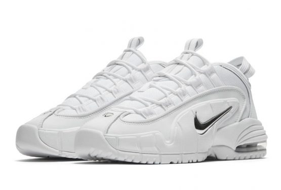 "8月10日発売★ Nike Air Max Penny 1 ""White Metallic""  White/White-Metallic Silver  685153-100"