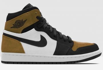 "動画★NIKE Air Jordan 1 Retro High OG ""Rookie of the Year""  Gold Harvest/Black  555088-700 (ナイキ エアジョーダン 1)"