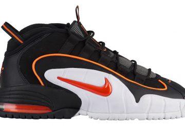 9月7日発売予定★ Nike Air Max Penny  Black/Total Orange-White  685153-002 (ナイキ エア マックス ペニー )