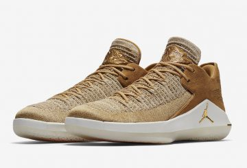 9月1日発売★NIKE  Air Jordan 32 Low  Golden Harvest/Metallic Gold-Sail AH3347-700(ナイキ エアジョーダン 32 ロー)
