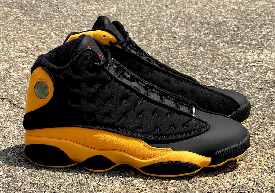 black and yellow jordan 13s off 57