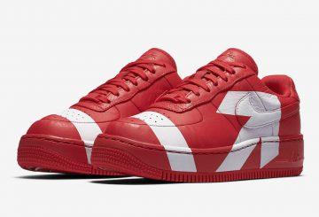 8月9日発売★ Nike Air Force 1 Low Upstep University Red/White  898421-601・Nike Air Force 1 Low Upstep  Black/White  898421-001