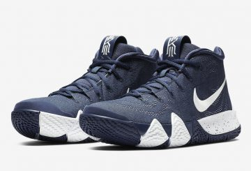 Nike Kyrie 4  College Navy/White  943806-402(ナイキ カイリ―4)