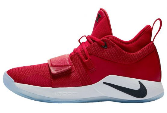 "動画★9月1日発売★ Nike PG 2.5 ""Fresno""  Gym Red/Dark Obsidian-White  BQ8453-600 (ナイキ PG 2.5)"