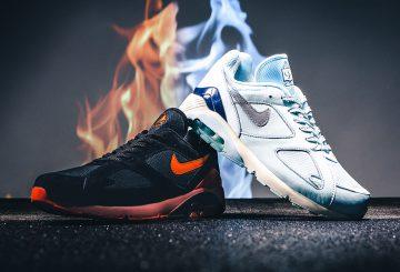"""海外展開中★全2色★  Nike Air 180 """"Fire And Ice"""" Pack  AV3734-400    AV3734-001【ナイキ エア マックス 180】"""