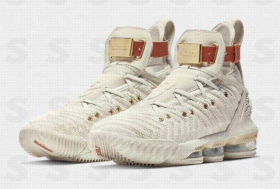 """9月発売予定★ Nike LeBron 16 LMTD """"HFR""""  Sail/White/Light Bone Release Price: $200 (ナイキ レブロン 16)"""