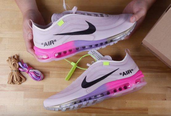 """動画★ Off-White x Nike Air Max 97 """"Queen"""" For Serena Williams"""