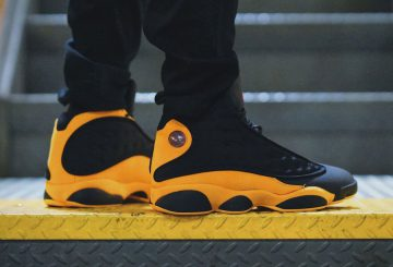 "動画★9月15日発売★ NIKE Air Jordan 13 Melo ""Class of 2002""  Black/University Red-University Gold : 414571-035 (ナイキ エアジョーダン 13)"