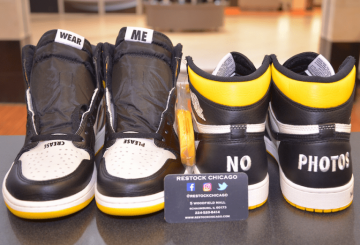 12月発売予定★ NIKE Air Jordan 1 Retro High OG NRG  Sail/Black-Varsity Maize  861428-107  $160