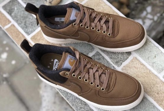 10月発売★CARHARTT WIP × NIKE AIR FORCE 1 LOW PREMIUM ALE BROWN/SAIL-ALE BROWN AV4113-200 カーハート WIP × ナイキ エアフォース1)