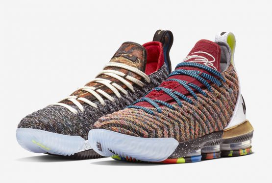 2018年9月発売予定★ Nike LeBron 16 LMTD  Multi-Color/Multi-Color  BQ6580-900  (ナイキ レブロン 16)