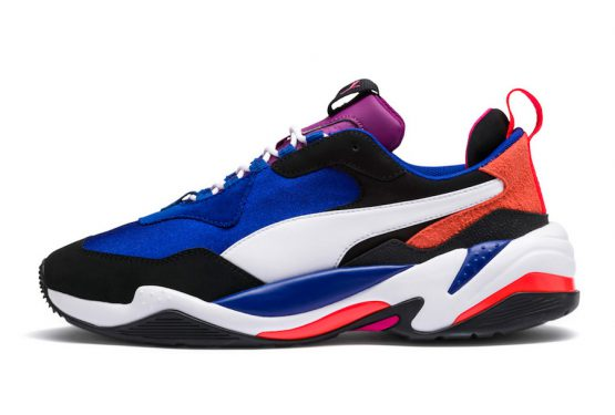 近日発売★ PUMA Thunder 4 Life  Puma Blue/Red-White  369471-01