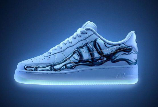"""10月31日発売★ Nike Air Force 1 Low """"Skeleton"""" White/White-White BQ7541-100 (ナイキ エアフォース 1 ロー """"スケルトン"""")"""