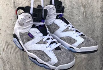 2019年発売予定★ NIKE Air Jordan 6 LTR  White/Black-Infrared 23-Dark Concord CI3125-100 $190 【ナイキ エア ジョーダン 6 】