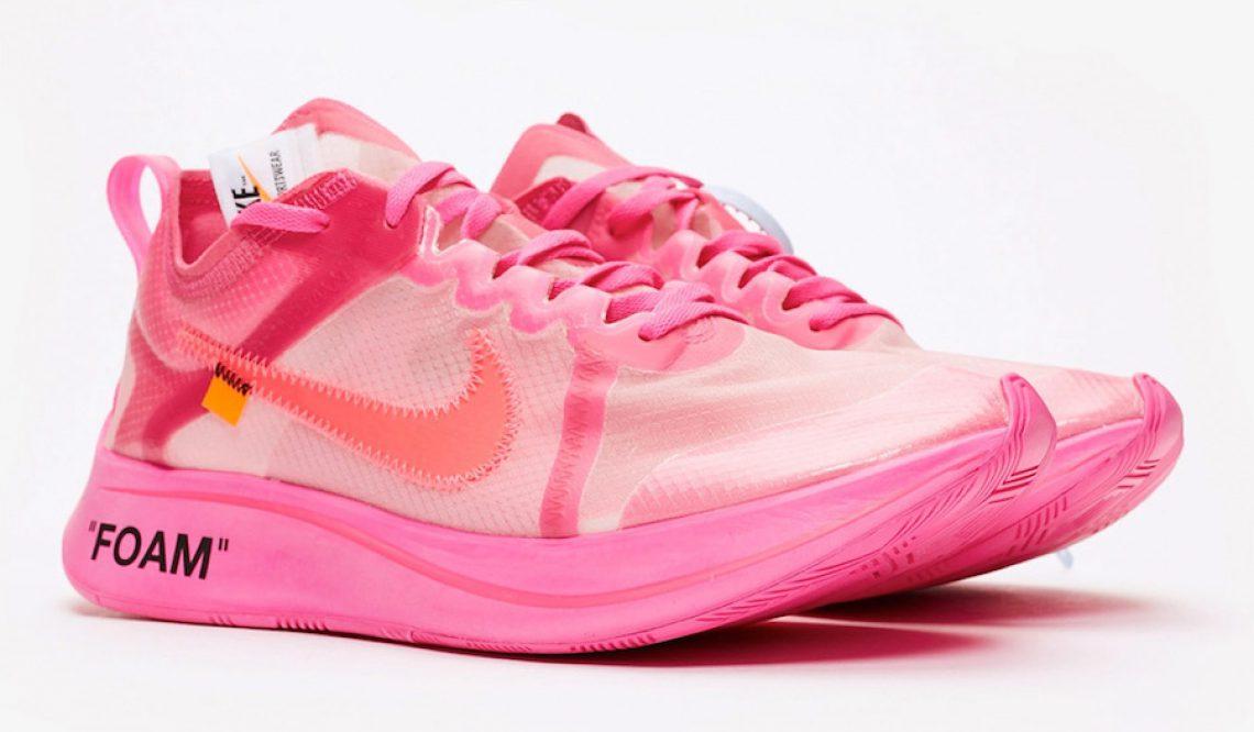 11月28日発売★ Off-White x Nike Zoom Fly SP Tulip Pink/Racer Pink  AJ4588-600   $170 【オフ ホワイト × ナイキ ズーム フライ 】
