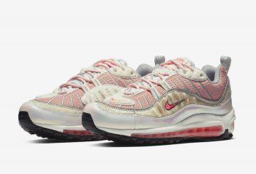 """Nike WMNS Air Max 98 """"Chinese New Year""""  Bleached Coral/Bright Crimson-Sail (BV6653-616) ナイキ ウィメンズ エア マックス 98 """"チャイニーズ ニューイヤー"""""""